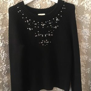 Kate Spade ♠️ NY - Embellished Sweater sz Small